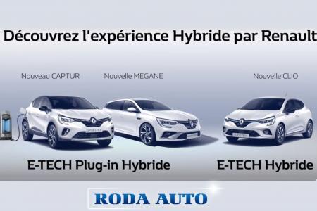 Découvrez la gamme E-TECH : les nouveaux véhicules hybrides Renault