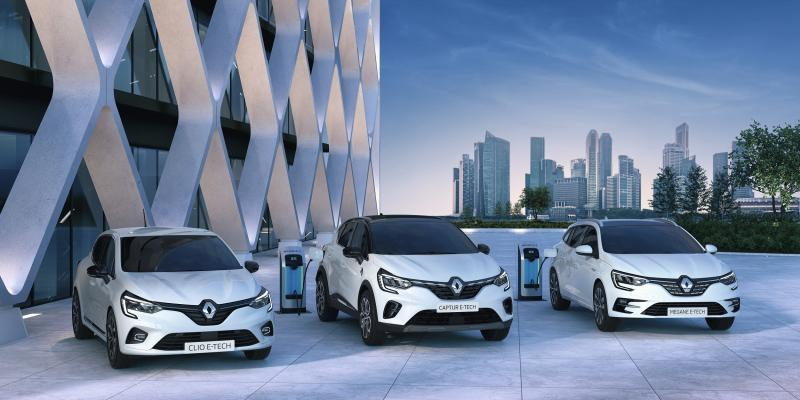 Gamme E-TECH : les nouveaux véhicules hybrides Renault