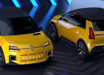 Présentation avant arrière nouvelle R5 100% électrique Prototype - Garage Roda Auto (Nîmes - Alès)